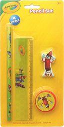 Zestaw przyborów szkolnych - 4 el. Crayola