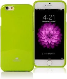 Mercury Mercury Jelly Case  Xcover 4 limonkowy /lime G390F