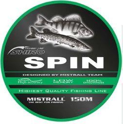 Mistrall Żyłka Mistrall 0,18mm shiro spin 150m zm-3474018