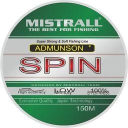 Mistrall Żyłka Admunson spin 150m 0,16mm Mistrall zm-3331016