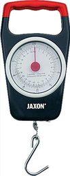 Jaxon Waga wędkarska czarno-czerwona 22 kg (ak-wa120)