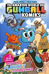 The Amazing World of Gumball T.4 Komiks