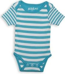 Juddlies Body Blue Stripe 6-12m