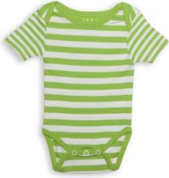 Juddlies Body Greenery Stripe 0-3m