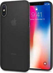 Spigen Etui Spigen Air Skin Apple iPhone X Black
