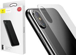 Baseus Baseus szkło hartowane na tył Apple iPhone X back transparent
