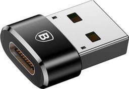 Adapter USB Baseus USB-C - USB-A Czarny (28297-uniw)