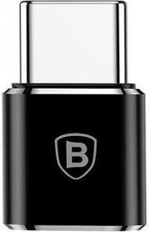 Adapter USB Baseus Micro USB - Typ C Czarny (28296-uniw)