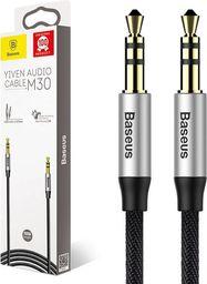 Kabel Baseus MiniJack 3.5 mm - MiniJack 3.5 mm, 1.5, Czarny (30477-uniw)