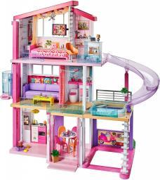 Mattel Barbie. Idealny domek dla lalek światła i dźwięki (FHY73)