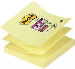 Post-it SUPER STICKY Bloczek samoprzylepny Z-NOTES, żółty, R330-12SS-CY 76x76mm, 90 karteczek (3M0685)