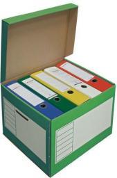 PRESSEL Pudło archiwizacyjne 410x350x300mm zielony, 10 sztukac (PRS011)