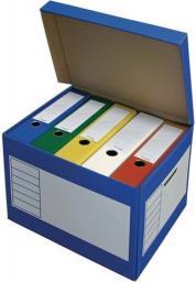 PRESSEL Pudło archiwizacyjne otwierane z góry 410x350x300mm niebieski, 10 sztuka (PRS009)