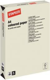Papier Staples Papier kolorowy TREND COLOURS A4 80g, szary/grey, ryza 500 arkuszy (7394160)
