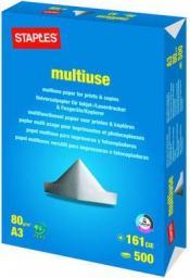 Papier Staples Papier MULTIUSE A3 80gsm, ryza 500 arkuszy (C34130)