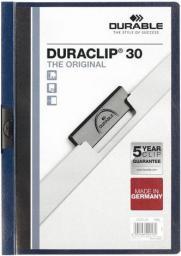 Durable Skoroszyt zaciskowy Duraclip Original 3mm ciemny granatowy (DUR067)