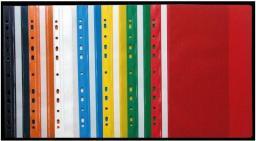 Skoroszyt Staples twardy z europerforacją PCV A4, żółty (PPL255)