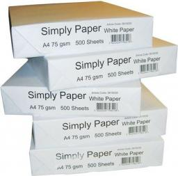 Papier Staples Simply A4, karton 5 ryz (PA0172)