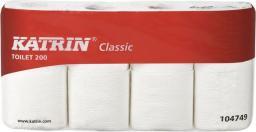 Katrin Papier toaletowy CLASSIC 200, 2-warstwy, biały 8 szt.