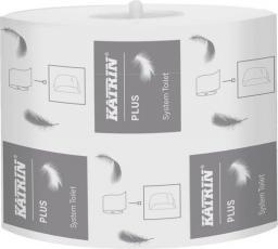 Katrin Papier toaletowy PLUS SYSTEM, 2-warstwy, biały 100 mm x 85m