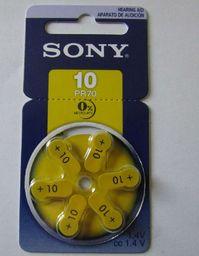 Sony Bateria do aparatów słuchowych PR10 6szt.