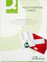 QConnect Etykiety uniwersalne A4 biały 70 (KF10641)