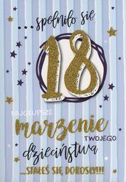 PASSION CARDS Karnet 18 Te Urodziny PR-063