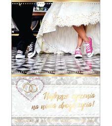 PASSION CARDS Karnet W dniu ślubu PR-074