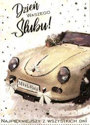 PASSION CARDS Karnet W dniu ślubu PR-071