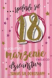 PASSION CARDS Karnet 18 Te Urodziny PR-064