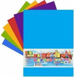 Fresh Karton Kolorowy Dwustronny A4/9K 200g/m2