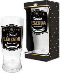 """BGtech Szklanka do piwa Gold """"Człowiek legenda"""""""
