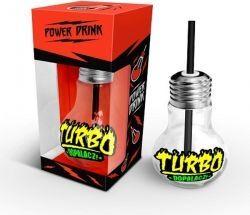 """BGtech Szklanka żarówka """"Turbo dopalacz"""" 400 ml"""