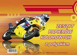 Blok biurowy KRESKA Zeszyt papierów kolorowych A5/10 z połyskiem