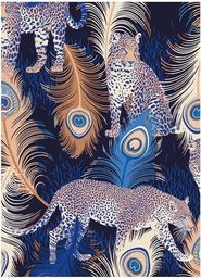 Museums & Galleries Karnet B6 z kopertą Leopards