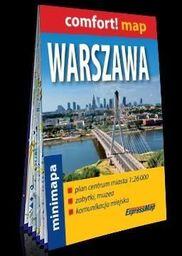 Comfort!map plan miasta Warszawa 1:26 000