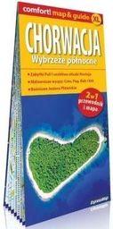 Comfort! map&guide Chorwacja 2w1 w.północne