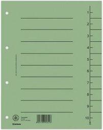 Donau Przekładka kartonowa do segregatora czysta zielona A4 (8610001-06)