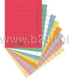 Donau Przekładka kartonowa do segregatora czysta czerwona (8610001-04)