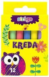 Pukka Kreda kolorowa 12 sztuk SSC021
