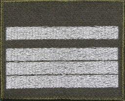 Sortmund Dystynkcja na kurtkę khaki - starszy plutonowy