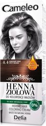 Delia Delia Cosmetics Cameleo Henna Ziołowa nr 4.4 korzenny brąz 75g