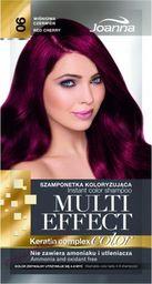 Joanna Joanna Multi Effect Color Keratin Complex nr 06 Wiśniowa 35g szamponetka do włosów