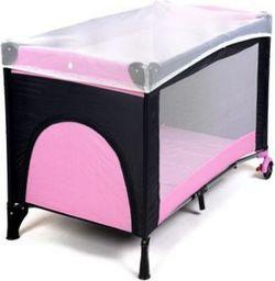 FUN BABY Kojec, łóżeczko GUFI kolor różowy. Moskitiera GRATIS!