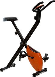 Funfit Rower treningowy Magnetyczny Składany z pomiarem pulsu pomarańczowy