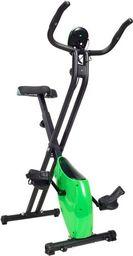 Funfit Rower treningowy Magnetyczny Składany z pomiarem pulsu zielony