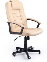 IMAGGIO Fotel biurowy GIOVANI jasny brąz  + gratis !