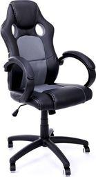 IMAGGIO Fotel biurowy RACER XS czarno - szary + gratis !