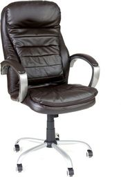 IMAGGIO Fotel biurowy VIP MASSERANO brązowy + gratis !
