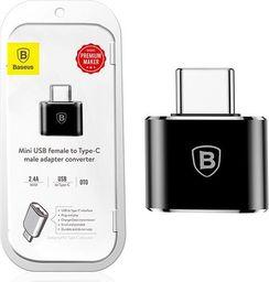 Adapter USB Baseus USB-C - USB-A Czarny (27625-uniw)